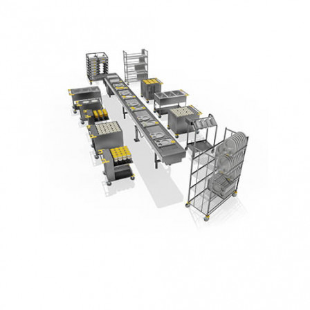 Food Distribution System - White